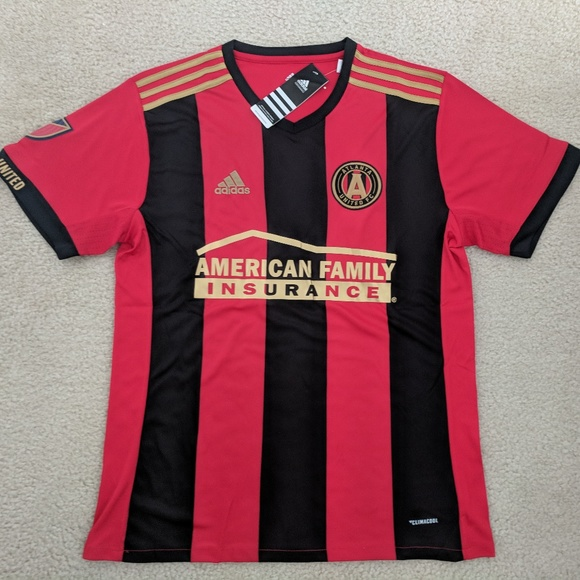 more photos c9d92 5ce3b Atlanta United FC Inaugural Season Home Red Jersey NWT